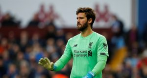 Alisson Becker Gets A Stiff Warning After Horror Anfield Display