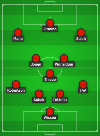 Liverpool vs RB Leipzig Predicted Line Up & Match Preview