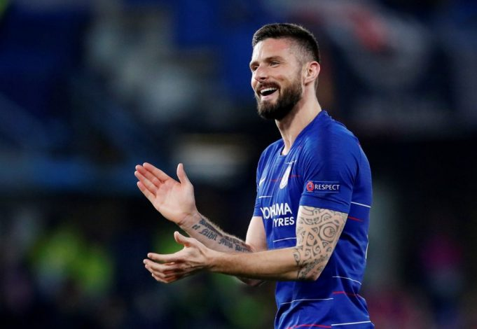 Olivier Giroud would be perfect replacement for Firminho