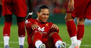 Virgil van Dijk will not play again this season