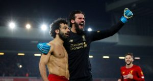 Alisson Becker makes Champions League admission