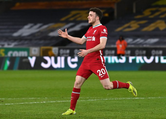 Club legend claims Jota is Liverpool's biggest goal threat