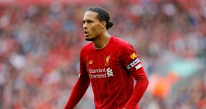 Jurgen Klopp gives fitness update on Virgil Van Dijk
