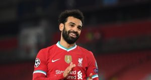 Mo Salah thanks team for his goalscoring record