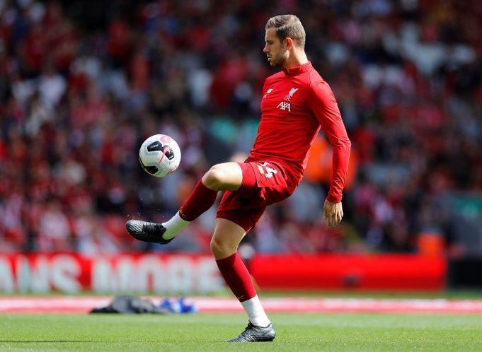 Jordan Henderson Simply A 'Cheerleader' For England