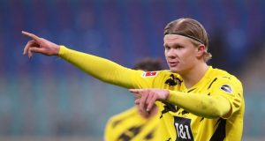 Erling Haaland drops a hint on his future amid Liverpool links