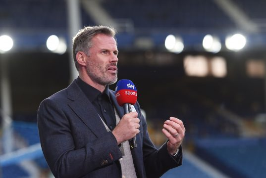 Jamie Carragher sends support to England trio after penalty misery