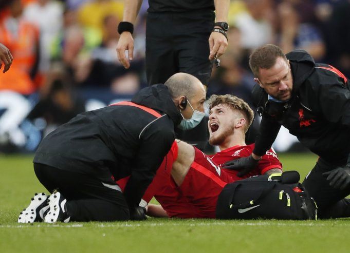 Jurgen Klopp gives an update on Harvey Elliott injury