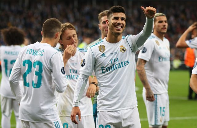 Liverpool linked with Marco Asensio for 2022 move