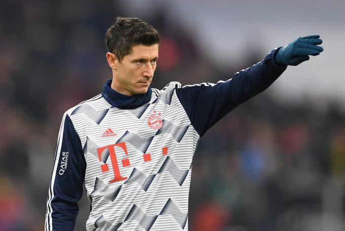 Robert Lewandowski tells his Poland teammate to snub Liverpool move